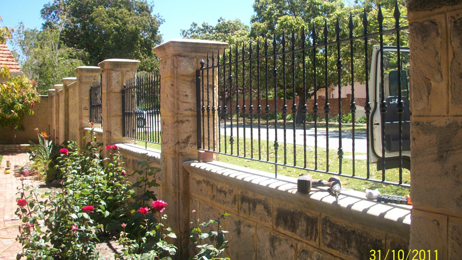 Wrought Iron Fencing Perth